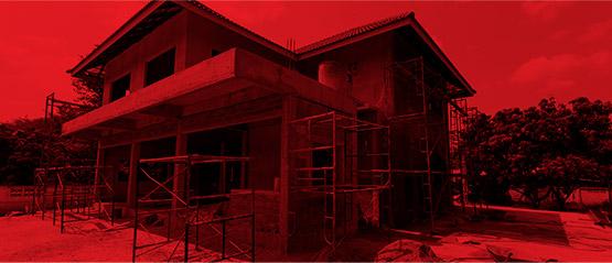 Residenciais, reformas e obras de pequeno porte